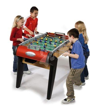 Jocuri de societate - Masă de fotbal din lemn Nr.1 Smoby de la 8 ani_1