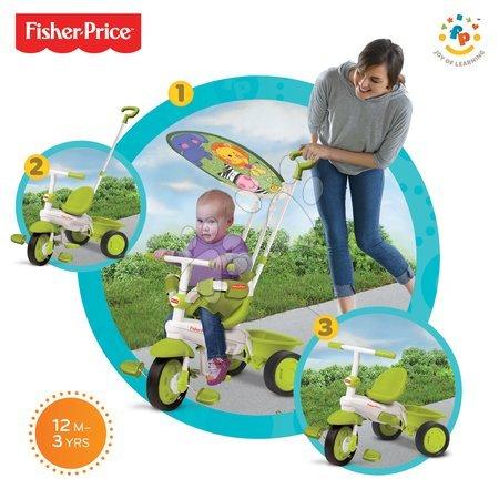Trojkolka Fisher-Price Classic Plus Green smarTrike od 10 mesiacov zelená
