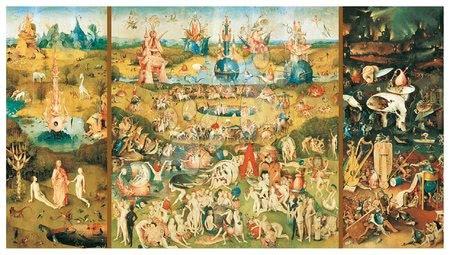 - Puzzle Vrt zemeljskih naslad – Hieronymus Bosch Educa 9 000 delov od 15 leta_1