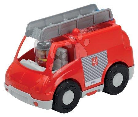 Építőjátékok - Építőjáték tűzoltóautó Abrick Écoiffier 18 hó-tól