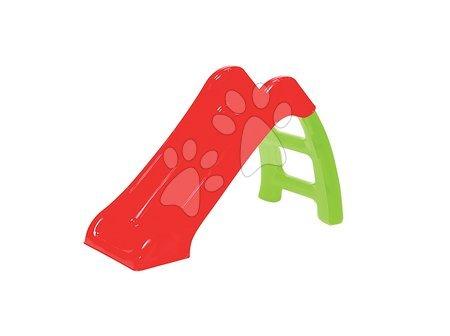 Šmykľavka pre deti Starplast skladacia dĺžka 115 cm od 24 mesiacov červeno-zelená
