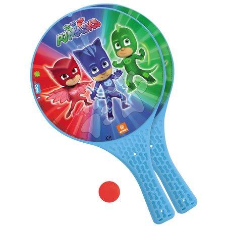Plážový tenis PJ Masks Mondo s 2 raketami a míčkem