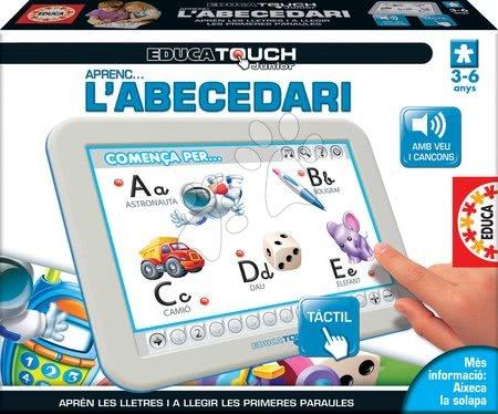 Tablet elektronický ABC L'Alphabet Educa pre deti od 3-6 rokov španielsky