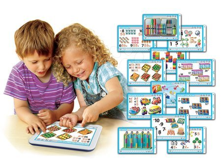 Interaktivne igrače - Elektronska tablica Štejemo od 1 do 20 Educa za otroke od 3-6 leta v španščini_1
