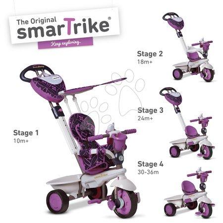 Trojkolky smarTrike - Trojkolka Dream Team Purple Touch Steering 4v1 smarTrike fialovo-šedá od 10 mes_1