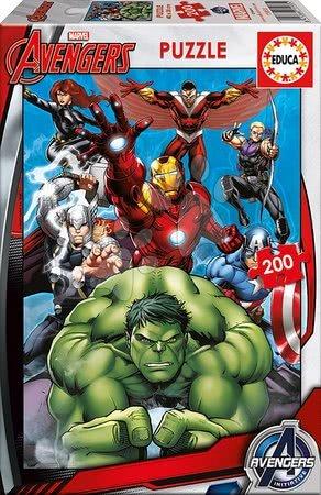 Avengers - Puzzle Bosszúállók Educa 200 db 6 évtől
