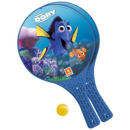 Plážový tenis Hledá se Dory Mondo s 2 raketami a míčkem
