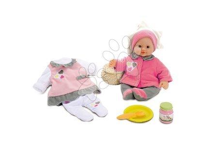 Panenky od 24 měsíců - Panenka Baby Nurse Smoby se šatičkami 32 cm od 24 měsíců
