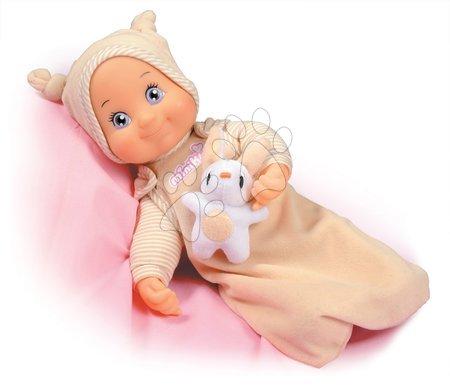 Panenky od 9 měsíců - Panenka s melodií MiniKiss Smoby uspávající 27 cm od 12 měsíců