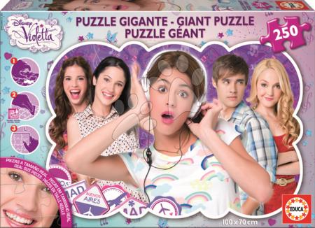 Puzzle za otroke - Otroške puzzle Giant Violetta Educa 240 delov od 8 leta
