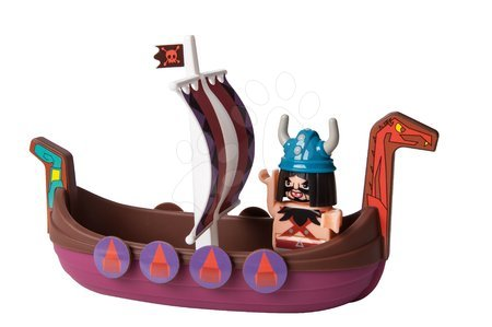 Vizes játék Waterplay Wickie BIG hajó figurával - 3 darab