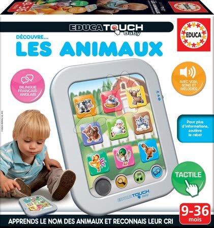 Interaktivne igrače - Elektronska tablica Živalce Lex Animaux Educa za otroke od 9-36 mes v francoščini