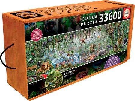 - Puzzle Genuine Wildlife Educa 33600 delov od 11 leta