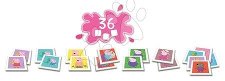 Spoločenské hry - Pexeso Peppa Pig Identic Educa pamäťová hra 36 kariet_1