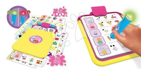 Spoločenské hry - Conector Junior Peppa Pig Educa 40 kariet a 200 otázok s inteligentným perom_1