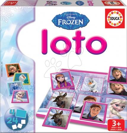 Hra Frozen Loto Educa 24 ks