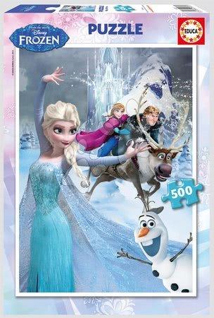 Puzzle Frozen Ľadové kráľovstvo Educa 500 dielov od 11 rokov