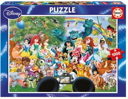Puzzle Disney Family The Marvelous World of Disney II. Educa 1000 dielov od 12 rokov