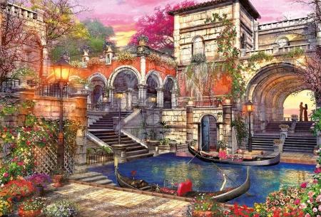 Igračke za sve od 10 godina - Puzzle Genuine Venice Courtship Educa 3000 dijelova od 15 godina_1