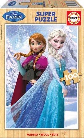 16373 a drevene puzzle frozen