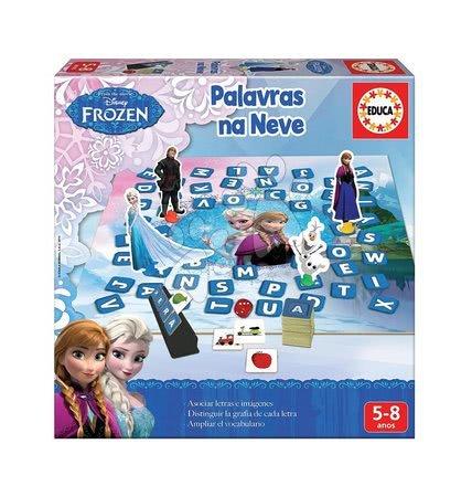 Náučná hra Učíme sa hrať so slovami Frozen Educa od 5 rokov