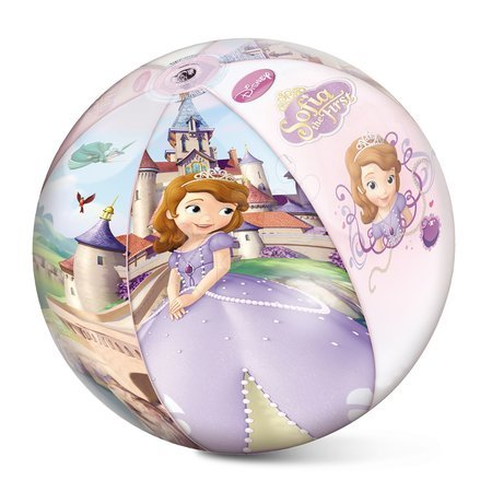 Felfújható strandlabda Szófia hercegnő Mondo 50 cm
