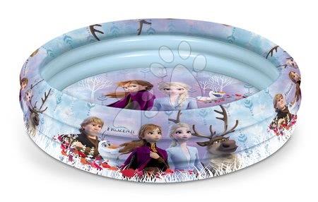 Piscine pentru copii - Piscină gonflabilă Regatul de gheaţă Mondo cu trei inele 100 cm de la 10 luni