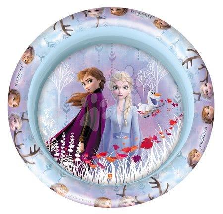 Piscine pentru copii - Piscină gonflabilă Regatul de gheaţă Mondo cu trei inele 100 cm de la 10 luni_1