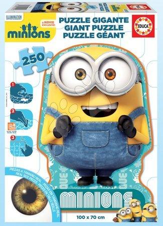 Otroške puzzle Giant Minioni Educa 250 delov od 8 leta