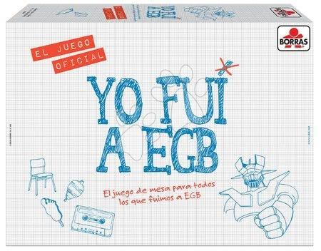 Spoločenská hra Yo Fui a Egb Borras Educa španielsky EDU16587