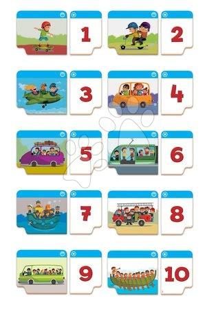 Spoločenské hry - Náučné hry Učíme sa čísla Educa 20 dielov od 1 po 10 od 3-5 rokov_1