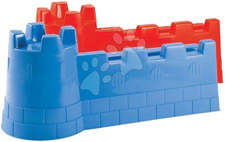 Formička do piesku Maxi hrad Écoiffier červená/modrá od 18 mes
