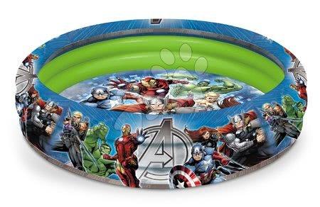 Avengers - Felfújható medence Avengers Mondo háromgyűrűs 100 cm 18 hó-tól