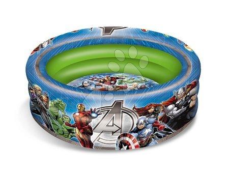 Piscină gonflabilă Avengers cu trei inele 100 cm de la 18 luni