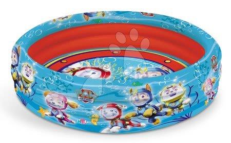 Piscine pentru copii - Piscină gonflabilă Paw Patrol - Patrula căţeluşilor Mondo cu trei inele 100 cm de la 10 luni