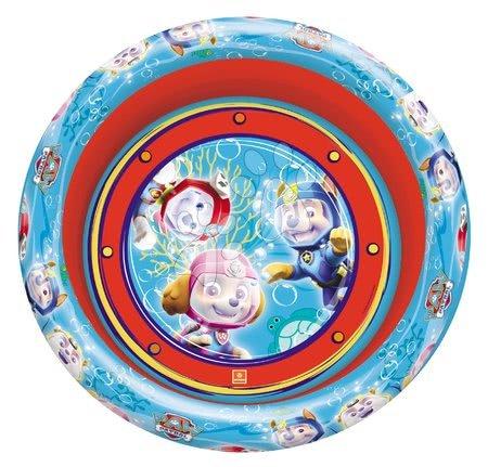 Piscine pentru copii - Piscină gonflabilă Paw Patrol - Patrula căţeluşilor Mondo cu trei inele 100 cm de la 10 luni_1
