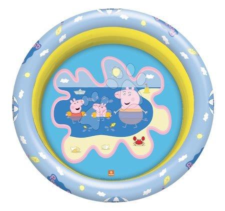 Piscine pentru copii - Piscină gonflabilă Peppa Pig Mondo cu 3 compartimente și diametru de 100 cm de la 10 luni_1