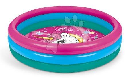 Piscine pentru copii - Piscină gonflabilă Unicorn Mondo cu diametru de 100 cm 3-inele de la 10 luni_1