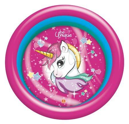 Piscine pentru copii - Piscină gonflabilă Unicorn Mondo cu diametru de 100 cm 3-inele de la 10 luni