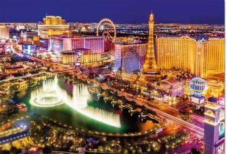 1000 darabos puzzle - Puzzle Neon Series, Neon Las Vegas Educa 1000 db 12 évtől_1
