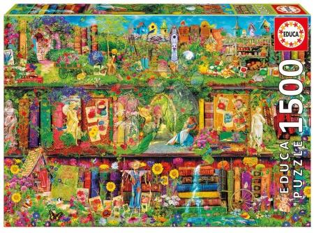 EDUCA 16766 puzzle Genuine The garden shelf 1500 dielikov od 13 rokov