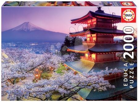 EDUCA 16775 puzzle Genuine Mount Fuji, Japan 2000 dielikov od 13 rokov