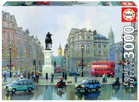 Puzzle Genuine London charing cross, Alexander Chen Educa 3 000 dílů od 15 let
