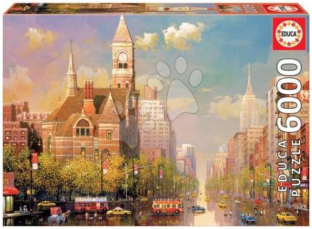 Puzzle Genuine New York afternoon, Alexander Chen Educa 6000 dielov od 15 rokov