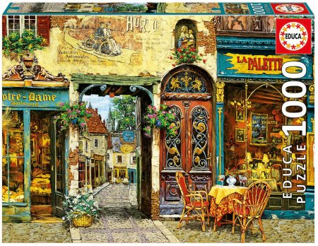 Puzzle Genuine La Palette Notre Dame, Viktor Shvaiko Educa 1000 dílů od 12 let