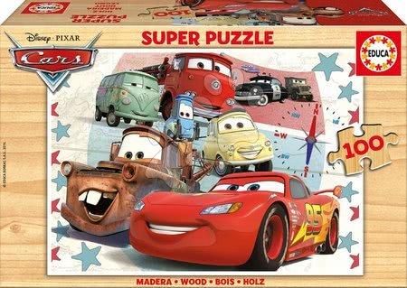 16800 a drevene puzzle cars