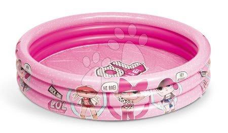 Piscine pentru copii - Piscină gonflabilă Lol Mondo cu 3-inele cu diametrul de 122 cm de la 10 luni