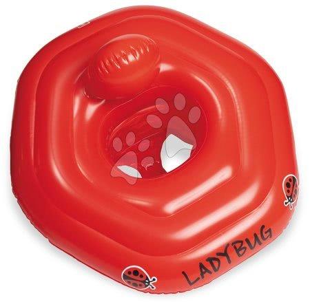 Nafukovací plovací kruh pro nejmenší Beruška Mondo 50 cm od 0–1 let