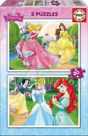 Princese - Dječje puzzle Disney Princeze Educa 2x20 dijelova_1