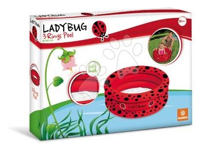Piscine pentru copii - Piscină gonflabilă Lady Bug Mondo cu 3-inele diametrul de 60 cm de la 10 luni_1